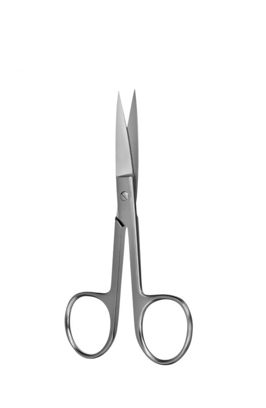 Blunt-pointed Scissors Stainless Steel Cut The Nose Ligature Scissors Probe-pointed Scissors 11.5cm Cosmetic Surgery Baby Care